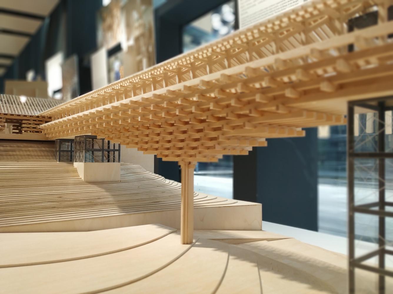 Horizontal Facade Architecture